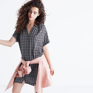Madewell Central Shirtdress in Thompson